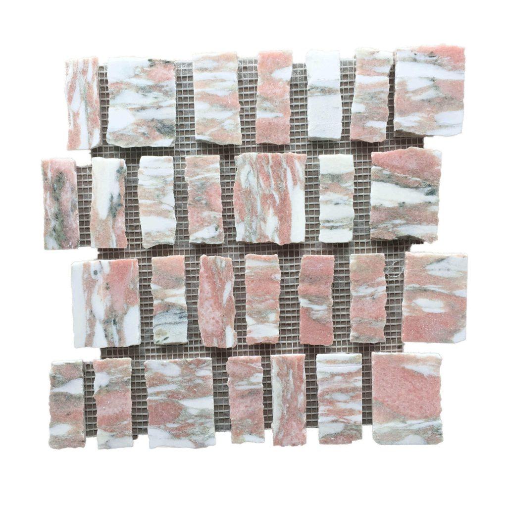 Norwegian Rose Marble, kit kat tiles, pink tiles, pink bathroom tiles, pink marble tiles, pink tiles for bathroom, pink bathroom tiles , pink marble,